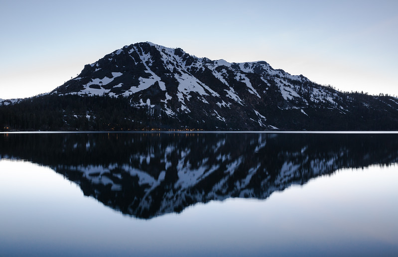 Tallac Evening Reflection