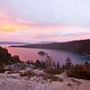 Alpenglow Over Emerald Bay