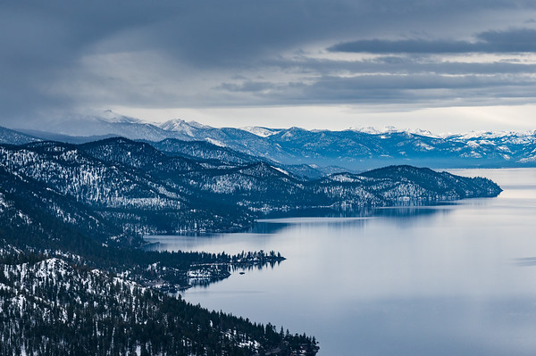 Lake Tahoe Basin.   California/Nevada.