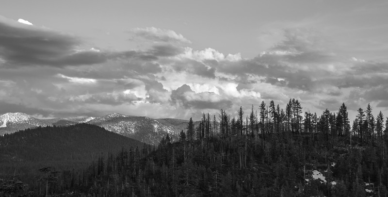 Ridgelines and Clouds