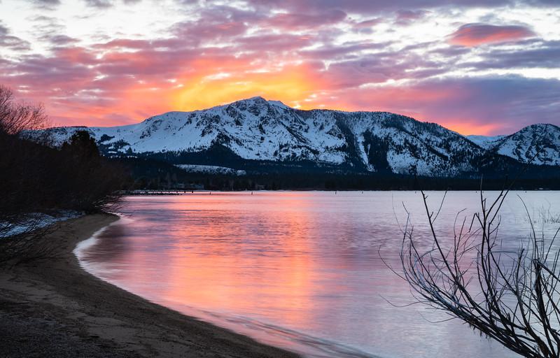 Tallac Sunset Glow