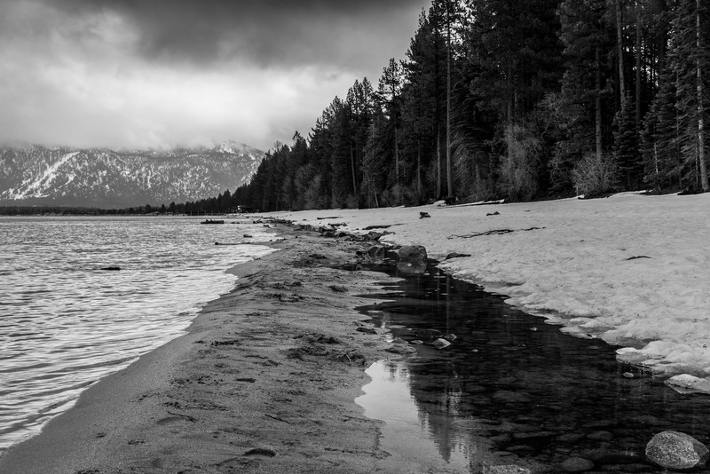 Water, Sand, and Snow