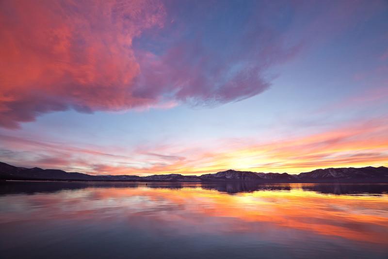 Nevada Beach Sunset