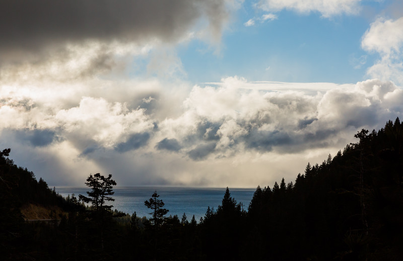 Tahoe Beneath the Storm Clouds