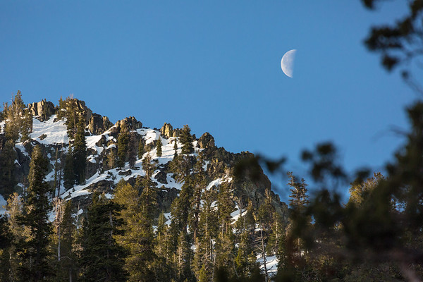 Morning Moonrise in Desolation