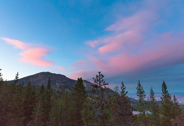 Mt Rose Alpenglow