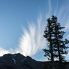 Cirrus Clouds Shooting Over Tallac