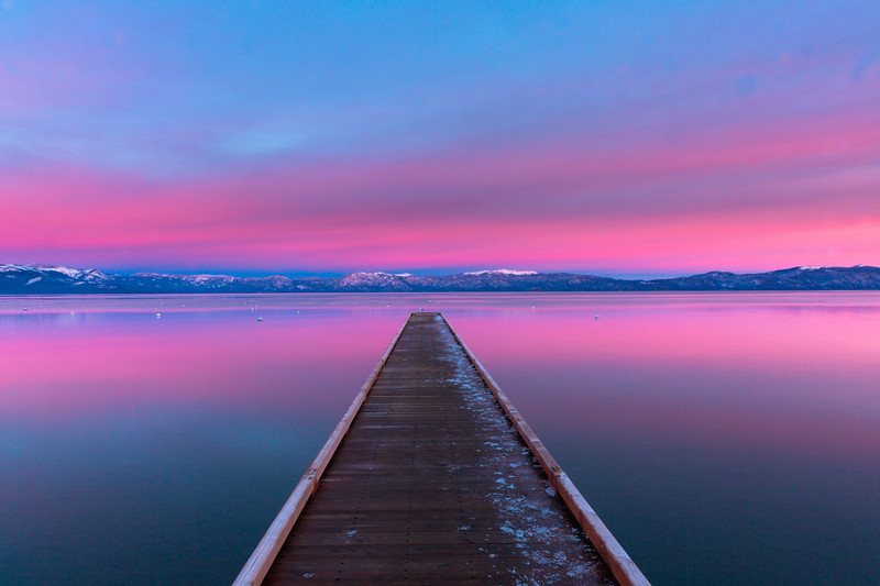 Lake Tahoe Basin.   California/Nevada.