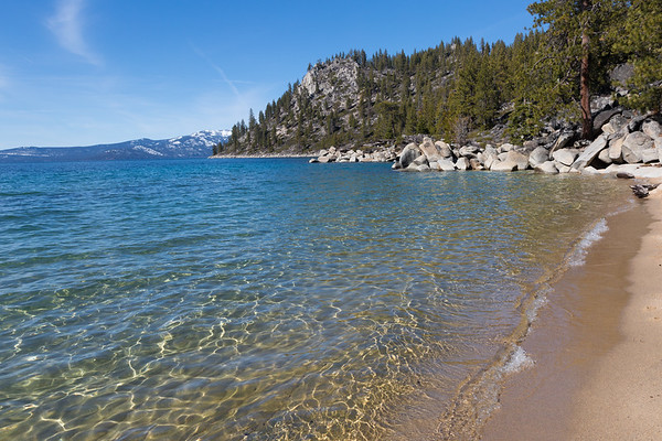 Clear and Calm Water by Skunk Harbor