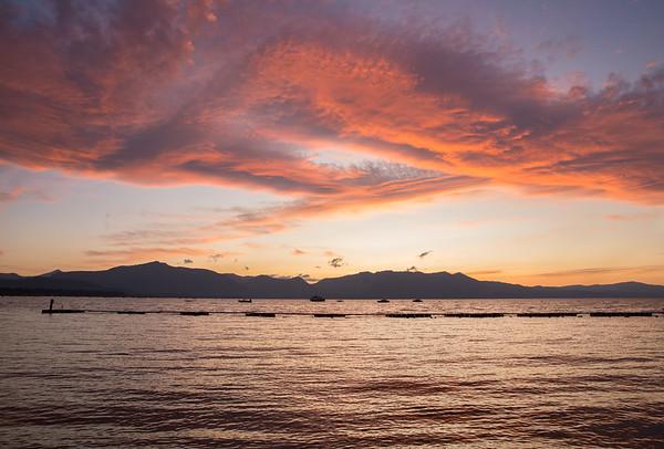 September Stateline Sunset