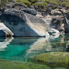 Granite Boulders  in Turquoise Water