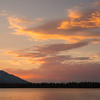 Vibrant August Sunset from Fallen Leaf Lake