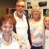 L > R, Joan Tallman, Kevin & Missy Bradtmueller, Julia Gruss