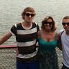 Lisla Helmle with her son Josef (left) and Tyler