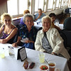 L > R, Rachael Gruss, Mary Lacey, Joanna Lacey enjoying buffet on the Belle of Louisville cruise.