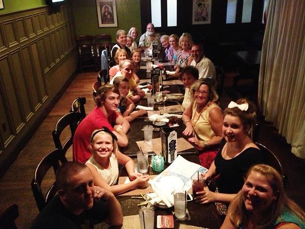 Farewell Reunion Dinner