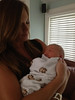 Aunt Jessica Johnson with her nephew Cyrus