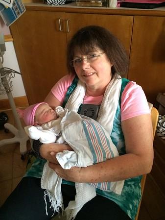 Hilary with Grandma - Mémé