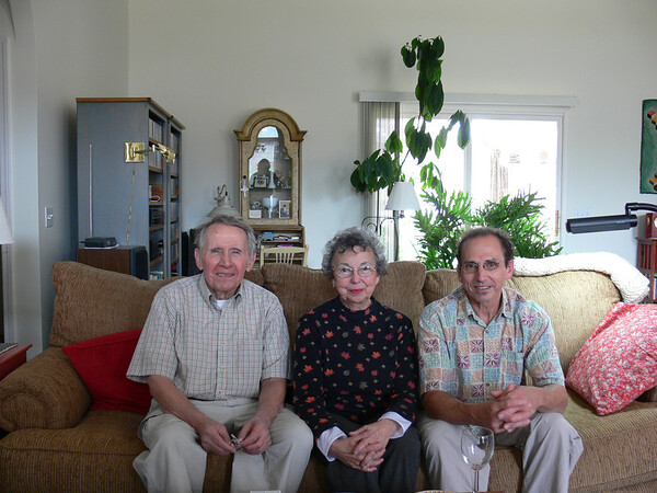 Jim with Mary and Son Jim IV