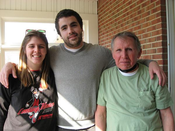 Hannah Jones, Grandson Randy and Gramps