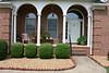 Front porch of Lacey Home in Paris, Tennessee
