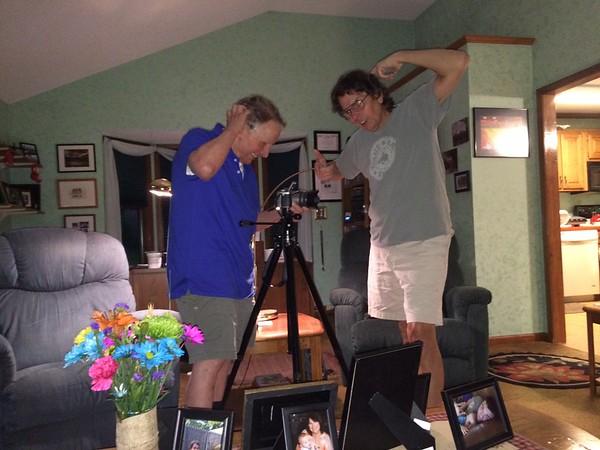 C'mon, Dad - it's your camera?