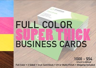 www.Docgrfx.com 1000 Business Cards - $54