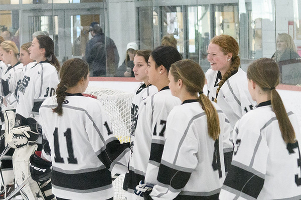 Girls Ice Hockey vs. Belmont 1-8-16