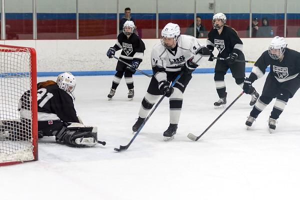 Girls Ice Hockey vs. HPNA 2018