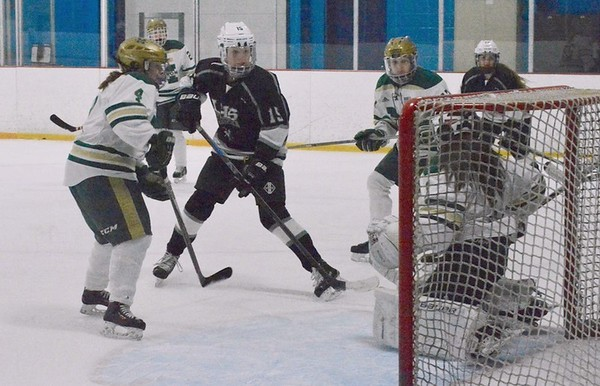 Girls Ice Hockey vs. Matignon 3-4-17