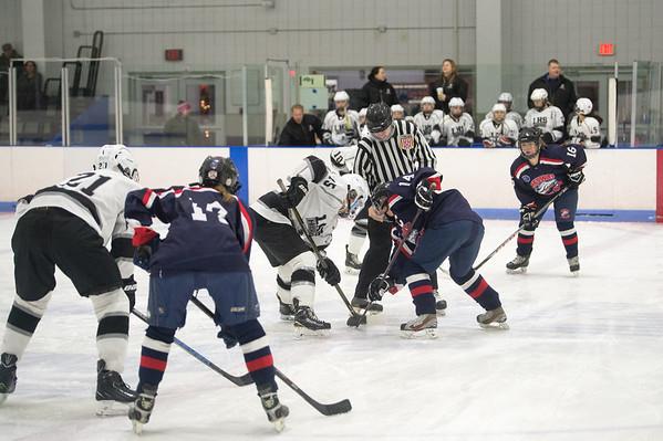 Girls Ice Hockey vs. Medway 2018