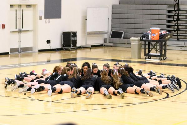 Girls Volleyball vs. Westfield 11-6-17
