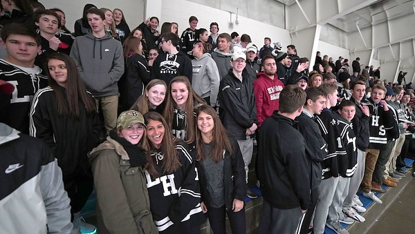 Ice Hockey vs. East Longmeadow 3-2-17