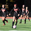 Chandler Podolzky (9) is backed up by Melissa Feary (18), Emma Podolzky (13) and Claire LaMarche (10)