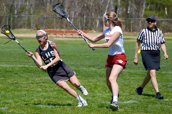 Longmeadow Girls Lacrosse at Westfield 4-19-16