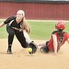 145 Longmeadow Softball Allison Mishol and Westfield Kaitlyn Puza