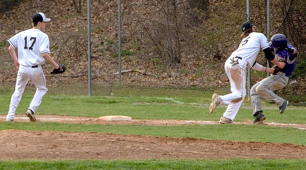 Longmeadow baseball vs. Holyoke 4-29-16