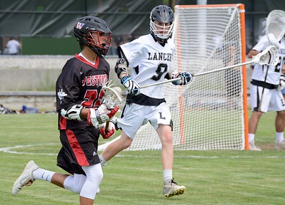 Longmeadow boys LAX vs. Westfield 6-4-16