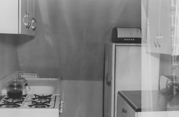 The kitchen of our first (3rd floor) apartment at 3012 Beechwood Blvd in Pittsburgh PA. We lived there only a few months before moving to Fifth Avenue apartment.