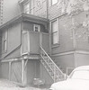 Rear Entrance to Jim and Mary Lacey Pittsburgh 5th Avenue apartment - easy access to garbage cans!