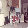 Jim (standing) and Frank Lacey at home in Cambridge Ohio