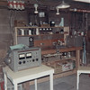 Cambridge workshop with audio recording console at left. For a short time I ran an audio recording business. Most of my work was with Muskingum College in New Concord OH.