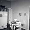 Our kitchen dining area. Through the folding door was a more formal dining room.