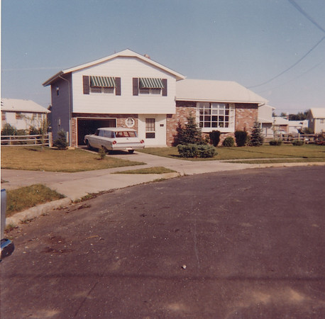 Street view of first home we owned - 807 Edgemoor Terrace, Cherry Hill NJ. We lived there only a few months as, having been transferred by RCA from Cambridge OH, I soon was transferred to RCA, Burlington MA. See Westford MA Gallery.