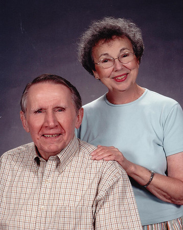Formal photo of Jim and Mary Lacey