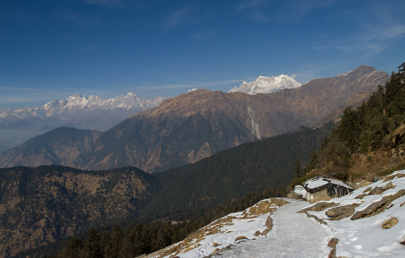 on the way to tungnath
