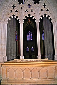 President's Woodrow Wilson's Tomb in the National Cathedral