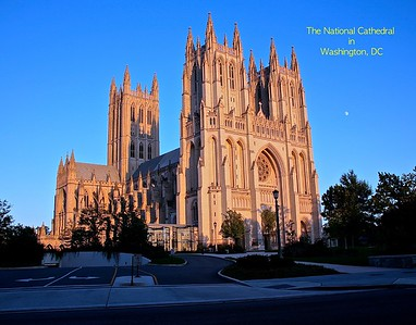 The National Cathedral in Washington, DC