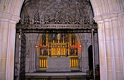 Entrance to The Children's Chapel in the National Cathedral