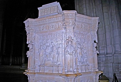 The Canterbury Pulpit in the National Cathedral